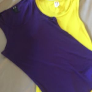 2 Under Armour tank tops